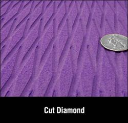Hydro turf Purple cut diamond sheet (glue down)