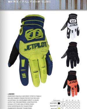 matrix full finger glove Jet Pilot