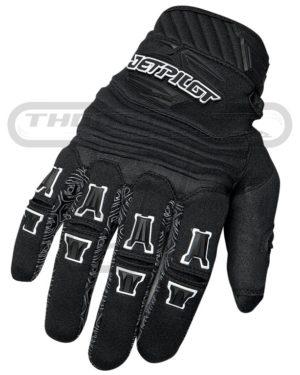 Jetpilot Full Finger Glove Black