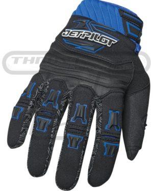Jetpilot Full Finger Glove Blue
