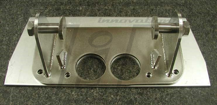 Stainless Steel Bracket and Aluminum Backing Plate