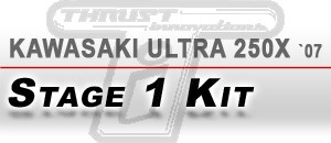 kawasaki Ultra 250X `07   Stage 1