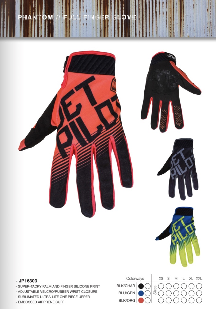 Phanton Jet pilot gloves