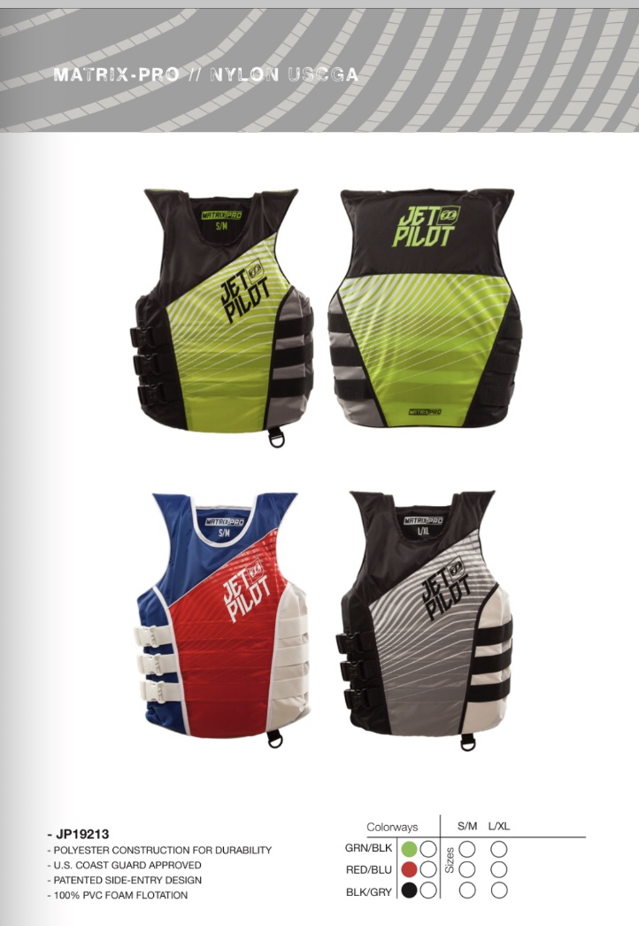 Matrix Pro side entry vest