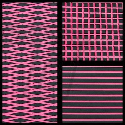 Black/Pink Hydroturf Sheet