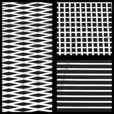 Black/White Hydroturf Sheet