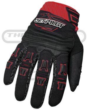 Jetpilot Full Finger Glove Red