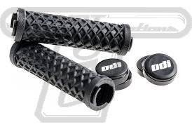 Vans ODI grips Black w/black clamps