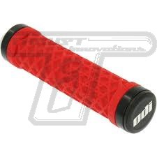 Vans ODI grips RED w/ black clamps