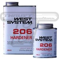 west system 206 hardner slow .44 pt