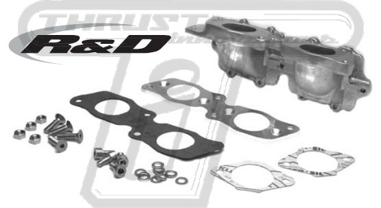 R&D Dual Intake Manifold - Yamaha